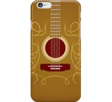 Classic Acoustic Guitar   iPhone Case/Skin
