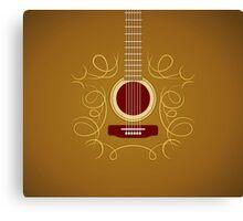 Classic Acoustic Guitar   Canvas Print