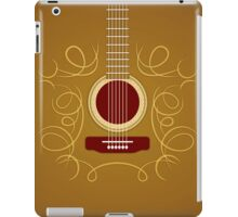 Classic Acoustic Guitar   iPad Case/Skin