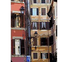 Rome - streetscape Photographic Print