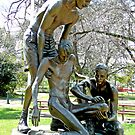 Edward &quot;Weary&quot; Dunlop Memorial, Benalla, Vic. Australia by Margaret  Hyde