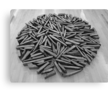 Richard Long - South Bank Circle Canvas Print