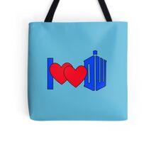 I ♥♥ DW Tote Bag