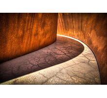 Infinite curves Photographic Print