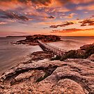 Bare Island Sunset by Arfan Habib