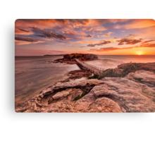 Bare Island Sunset Metal Print