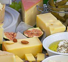 cheese plate by Joana Kruse