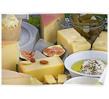 cheese plate Poster