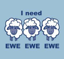 Blues Sheep Kids Clothes