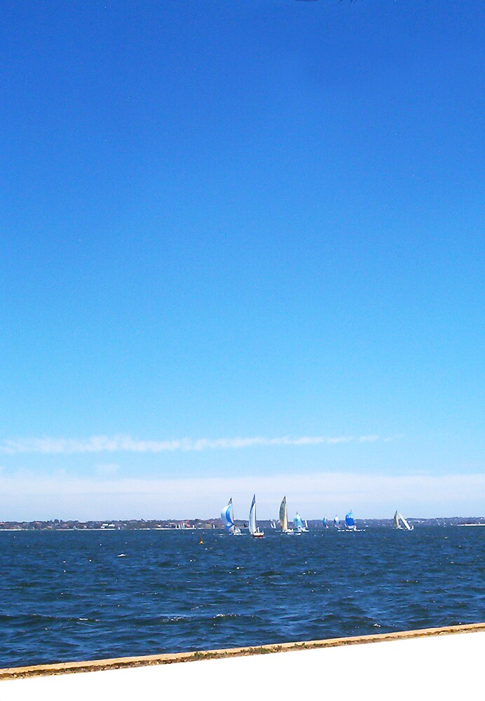 Yachts  22 12 12  Four  by Robert Phillips