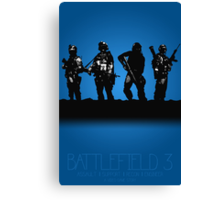 Battlefield 3 - A Video Game Story Canvas Print