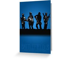 Battlefield 3 - A Video Game Story Greeting Card