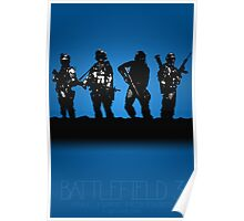 Battlefield 3 - A Video Game Story Poster