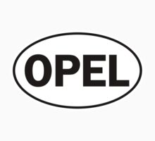 OPEL - Oval Identity Sign by Ovals