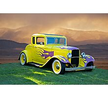 1931 Ford 5 Window Coupe Photographic Print