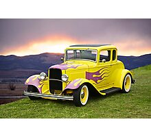1932 Ford 5 Window Coupe II Photographic Print