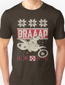 Motorcycle Braaap Xmas Tshirt Motor Tshirt T-Shirt