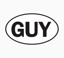 GUY - Oval Identity Sign by Ovals