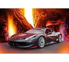 Redemption - F458 Ferrari Photographic Print