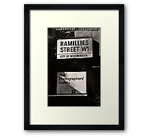 Photographers Gallery Framed Print