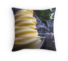 Whip It, Hawaiian Style Throw Pillow