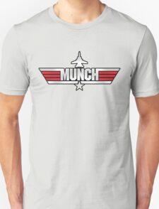 Custom Top Gun Style - Munch Unisex T-Shirt