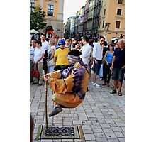 Krakow Street Artist Photographic Print