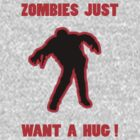 Zombie Hug Red by ZombieBubble