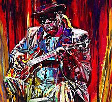 The Blues man by Sam55