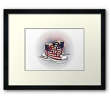 American Teen Patriotic Shoes iPad Case / iPhone Case / T-Shirt / Prints / Samsung Galaxy Cases / Pillow / Tote Bag  Framed Print