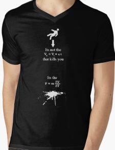 Deadly Gravity Mens V-Neck T-Shirt