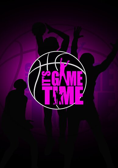 It's Game Time - Pink by Adamzworld