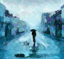 Rain over the paradise by DiNovici