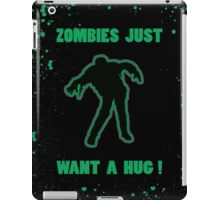 Green Zombie iPad Case/Skin
