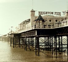 Brighton Palace Pier by lightmonger