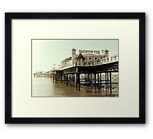 Brighton Palace Pier Framed Print
