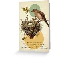 To Kill A Mockingbird Greeting Card