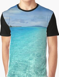 South Pacific Paradise  Graphic T-Shirt