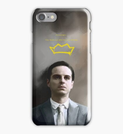 Moriarty portrait iPhone Case/Skin