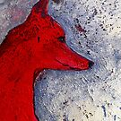"Red Dog  by Belinda ""BillyLee"" NYE (Printmaker)"