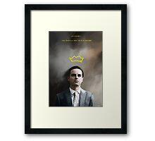 Moriarty portrait Framed Print