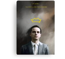 Moriarty portrait Canvas Print