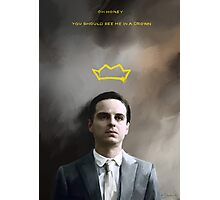 Moriarty portrait Photographic Print