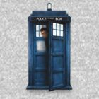 David Tennant Tardis by drwhobubble