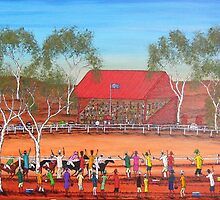 """""""Outback Race Day"""" EJCairns; SOLD by EJCairns"""