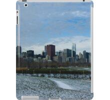 Wintry Windy City Skyline - Chicago, Illinois, USA iPad Case/Skin