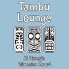 Tambu Lounge White Solid Tiki by AngrySaint