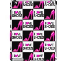 CHIC AND TRENDY I LOVE SHOES DESIGN iPad Case/Skin