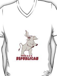 Vote Republican Elephant Mascot Cartoon T-Shirt