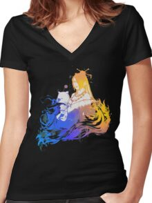 Lulu Final Fantasy Women's Fitted V-Neck T-Shirt